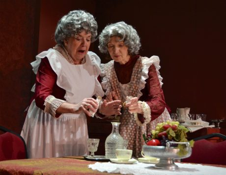 Susan Giddings and , Susan Dewey. Photo by Cindy Millison.
