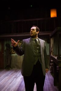 Ryan Burke as Detective Stone. Photo by Traci J. Brooks Studios.