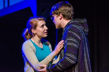 Natalie (Christie Smith) and Henry ( ). Photo courtesy of Silhouette Stages.