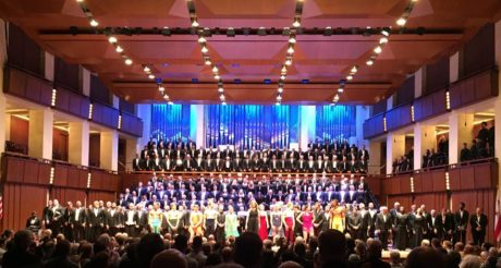 The Performers at The Kennedy Center. Photo courtesy of The Gay Men's Chorus of Washington, DC.