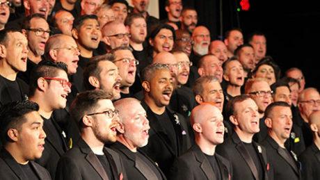 Gay Men's Chorus of Washington, DC. Photo by James Dillon O'Rourke.