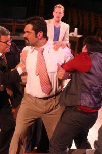 Ernie Molina stars as Juror #3. Photo by f Charles Divine.