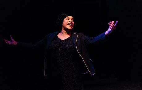 Iyona Blake (Caroline). Photo by Keith Waters, Kx Photography.
