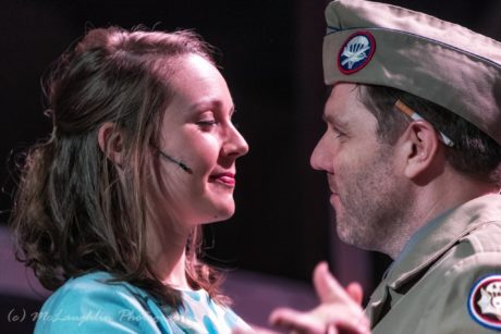 Mrs. Walker (Katie Shaffer) and Captain Walker ( Captain Walker (Mark Hamberger). Photo courtesy of Kensington Arts Theatre.