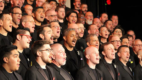 Gay Men's Chorus of Washington, DC. Photo by James Dillon O'Rourke.
