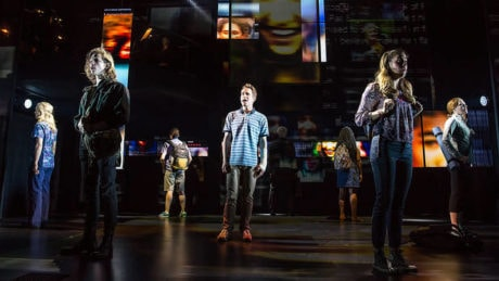 The cast of 'Dear Evan Hansen.' Photo by Matthew Murphy.