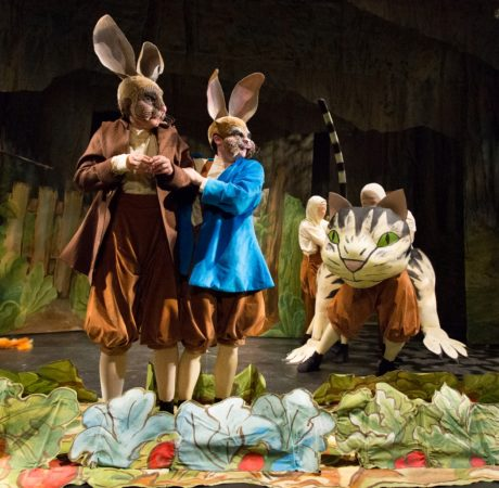 2.Enchantment Theatre Company's 'Peter Rabbit Tales.' Photo by Mark Garvin.
