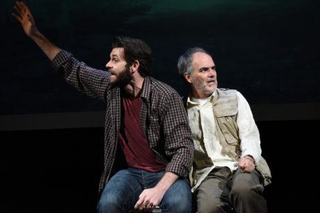 Thomas Keegan and Eric Hissom. Photo by Stan Barouh.