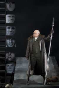 Alan Held as Wotan in 'The Valkyrie.' Photo by Scott Suchman.