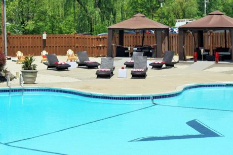 Valley Beach Pool. Photo courtesy of Valley Forge Casino Resort.