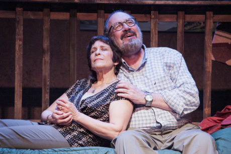 Naomi Jacobsonand Rick Foucheux. Photo by C. Stanley Photography.