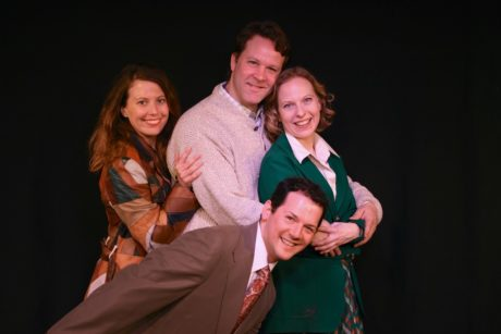 Jessica Kochu, Matt Tallman,Adam Danoff, and Anna Marie Seel. Photo by Angela McMichael.