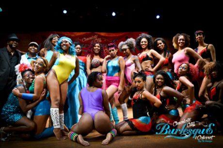 CCBC (Chocolate City Burlesque). Photo by Johnee Wilson.