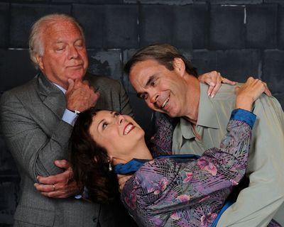 Richard Manichello, Michele Guyton, and Greg Guyton. Photo by Tom Lauer.