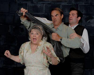 Carol Conley Evans, Greg Guyton, and Jim Baxter. Photo by Tom Lauer.