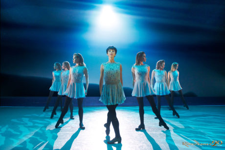 Cast members of 'Riverdance.' Photo by Rob McDogall.