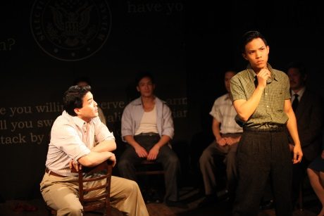 Chris Doi, Hansel Tan, and Tony Vo. Photo by John Quincy Lee