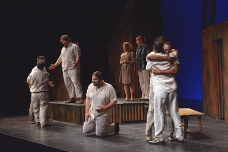 Male Chorus and Randa Rouweyha (Marcelita). Photo by Rx Loft Photography.
