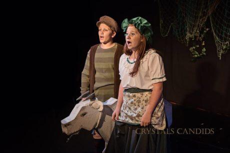 Donovan Yaukey and Caroline Bowers. Photo by Crystal's Candids.