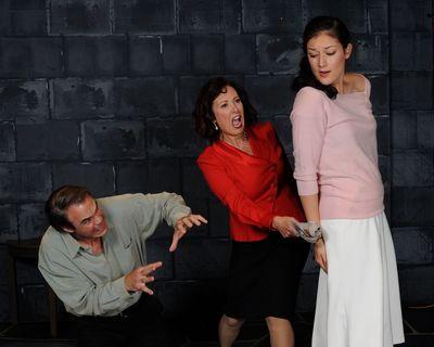 Greg Guyton, Michele Guyton, and Jessica Kim. Photo by Tom Lauer.