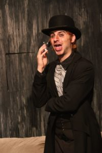 Matthew Payne as Mr. Croup. Photo by Shealyn Jae Photography.