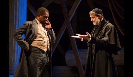 Craig Wallace (Antoine) and Matthew Boston (Shylock). Photo by Teresa Wood Photography.