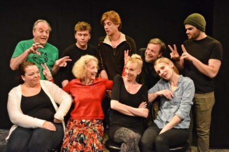 The cast. Photo by Tessa Sollway.