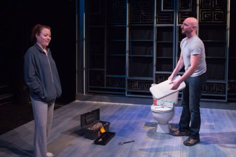'We Could Be Heroes' with Kimberlee Ann McDaniel Wolfson and Danny Pushkin. Photo by Teresa Wood Photography.