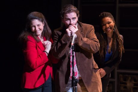 'Wiff of Humanity' with Mindy Steinman Shaw, Connor J. Hogan and Karen Elle. Photo by Teresa Wood Photography.