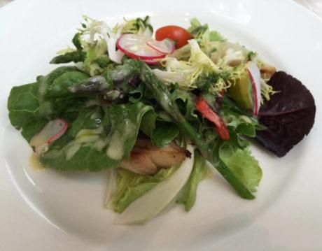 Provençal Vegetable Salad with herb pistou vinaigrette.