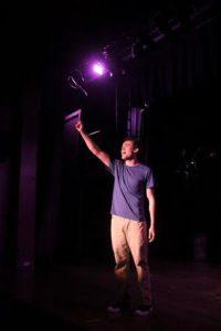 Ben Peter (Tony). Photo by Matt Liptak.