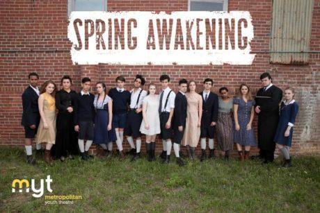 spring awakening cast with logo