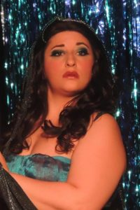 Tori Weeaver (Lady of the Lake). Photo courtesy of Way Off Broadway.