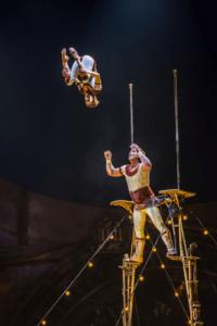 Russian Cradle Duo. Photo courtesy of Cirque du Soleil.