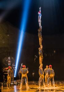 Banquine. Photo courtesy of Cirque du Soleil.