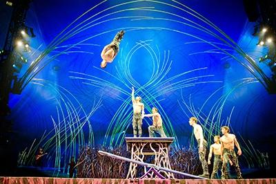Teetorboard. Photo courtesy of Cirque du Soleil.