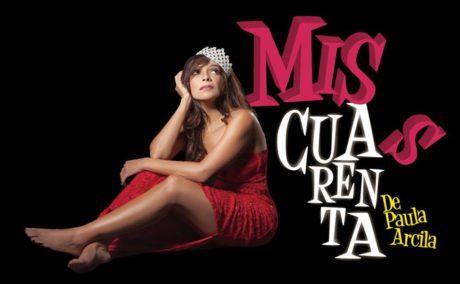 Paula Arcila in Miss Cuarenta. Photo courtesy of GALA Hispanic Theatre.