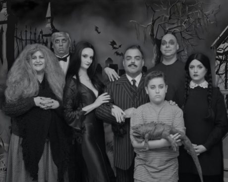 The cast of 'The Addams Family.' Photo courtesy of The Ritz Theatre Company.