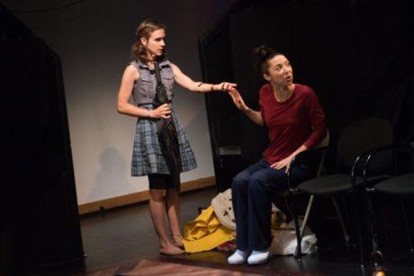 Rachael Balcanoff and Joey Parsons. Photo by Seth Freeman.