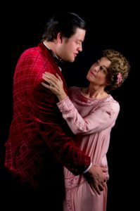 Gray West and Annette Mooney Wasno in 'The Final Kiss.' Photo by Tony Hitchcock.
