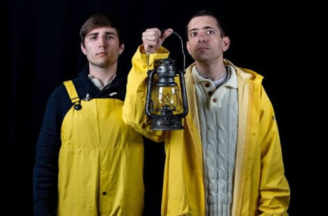 Brian Kraemer and Zach Brewster-Geisz in 'The Lighthouse Keepers.' Photo by Tony Hitchcock.