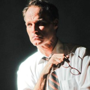 Russ Widdall as Bobby Kennedy. Photo by Alex Lowry.