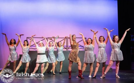 Ariel Moore (Nikkie Culbreth) and the ensemble. Photo by Irish Eyes Photography by Toby.