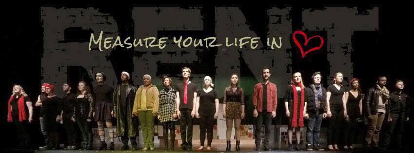 The cast of 'RENT.' Photo courtesy of Rockville Musical Theatre.