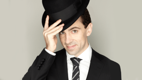 Rob McClure. Photo courtesy of of Feinstein's/54 Below.