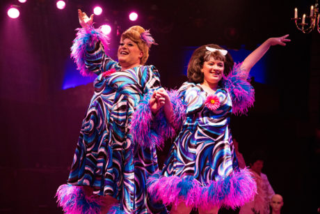 Edna (Laurence B. Munsey) and Tracy Turnblad (Christie Graham). Photo by Jeri Tidwell.