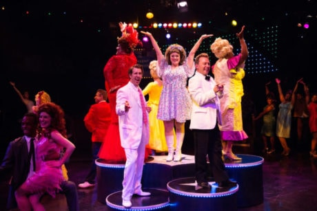 The cast of 'Hairspray. Photo by Jeri Tidwell.