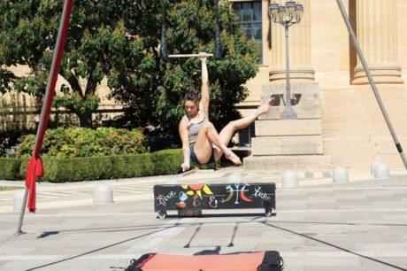 Nicole Burgia. Photo courtesy of Circadium/Philadelphia School of Circus Arts.