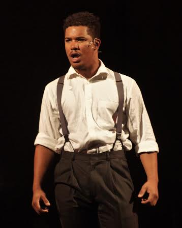 Da'Von Moody as Jake. Photo by Richard Church.