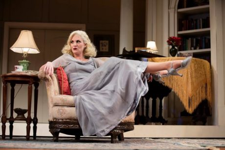 Eleanor Handley in 'Blithe Spirit.' Photo by Lee A. Butz.